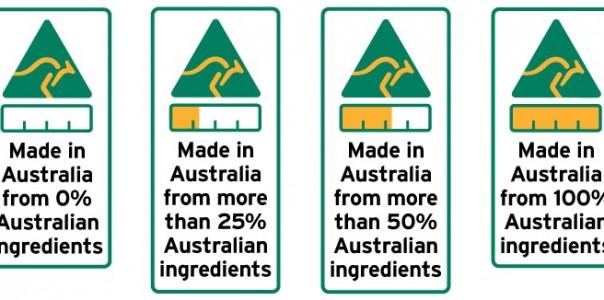 Australia Food Labels