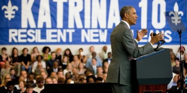 Obama Katrina