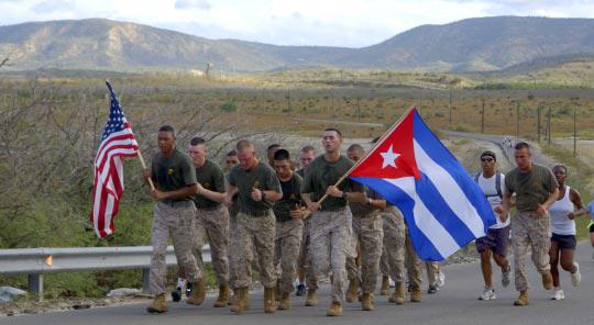 The_2006_annual_Cuban-American_Friendship_Run,_on_the_Guantanamo_Bay_Naval_Base