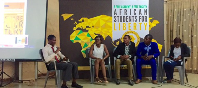 ShareYourStory African students for liberty