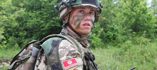 Montenegro army