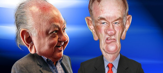 Caricatures_Roger_Ailes_and_Bill_O'Reilly_(33896138635)