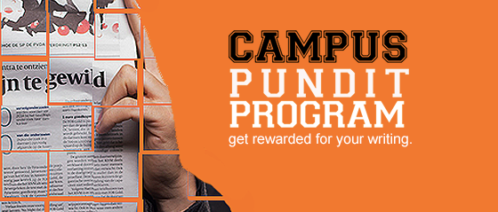 Announcing Our Fall 2017 Campus Pundit Program