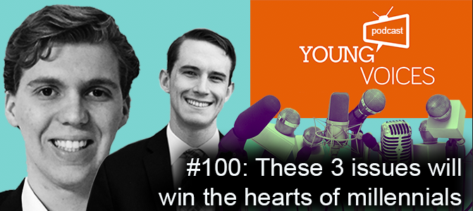 Podcast #100: These 3 issues will win the hearts of millennials