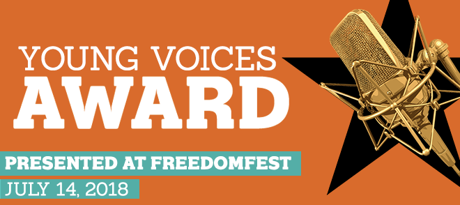 Announcing the Young Voices Award