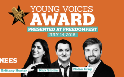 Podcast #115: Nominees for the Young Voices Award (Nolan Gray, Brittany Hunter, Nick Sibila)